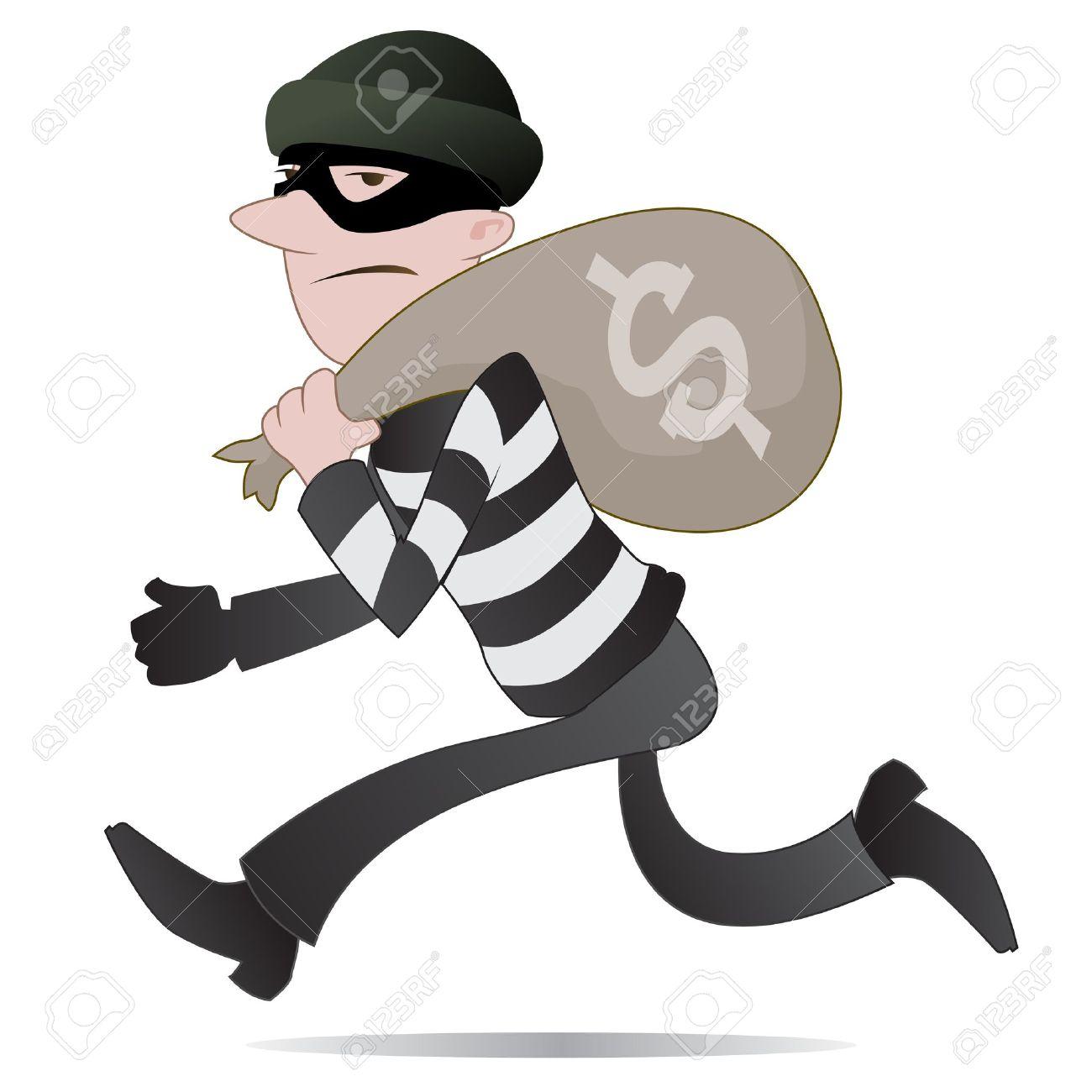 Thief Clip Art