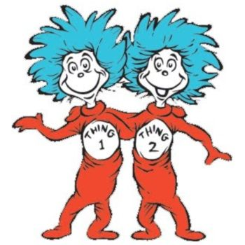 dr seuss coloring pages thing 1 and thing 2 clipart panda free rh clipartpanda com thing 1 and thing 2 clipart black and white