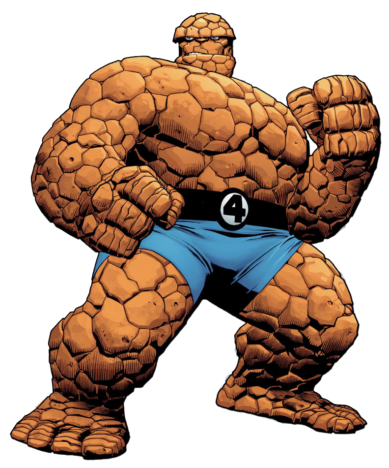 thing fantastic four clipart rh worldartsme com