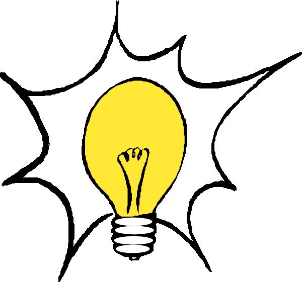 Thinking Light Bulb Clip Art | Clipart Panda - Free ...