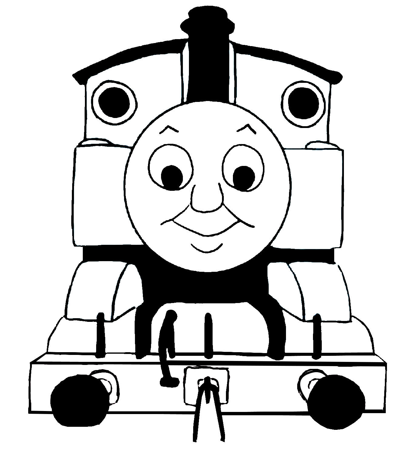clip art thomas train - photo #2