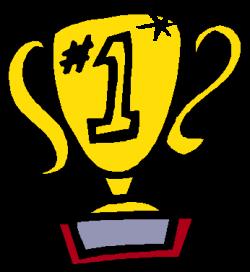 1st Place Trophy Clipart