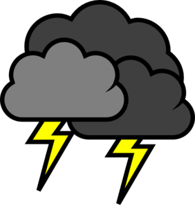 Image result for thunderstorm clipart