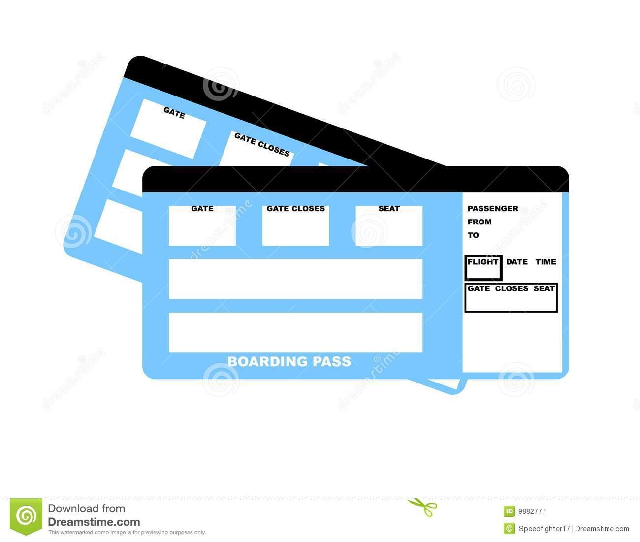 Blank Movie Ticket Clip Art