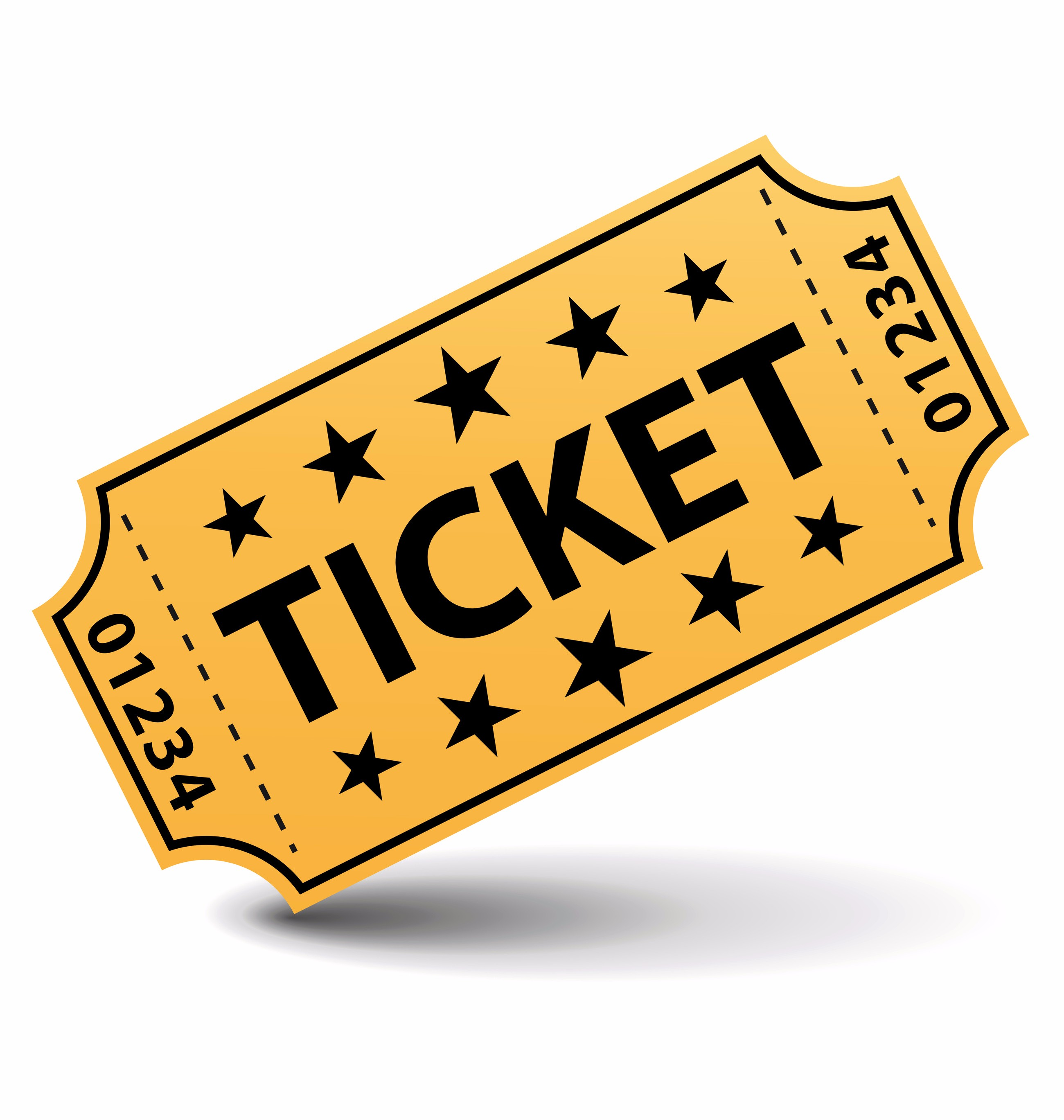 Ticket Clip Art To Print