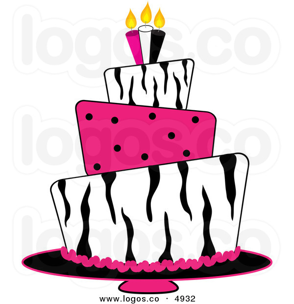 Pink Birthday Cake Clipart Clipart Panda Free Clipart Images