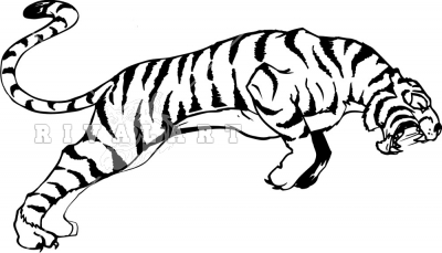 Clip Art Tiger Clipart Black And White tiger clip art black and white clipart panda free images