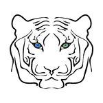 tiger%20clip%20art%20black%20and%20white