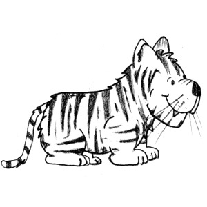 Clip Art Tiger Clipart Black And White tiger face clip art black and white clipart panda free art