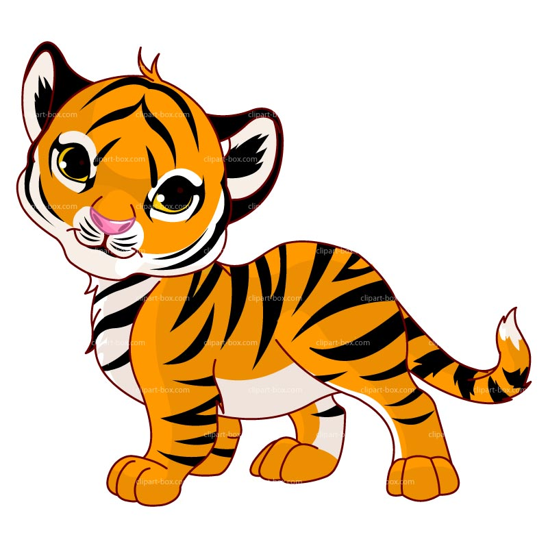 Cute Baby Tiger Clipart | Clipart Panda - Free Clipart Images