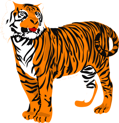tiger clip art for kids clipart panda free clipart images rh clipartpanda com tiger clip art images free tiger clip art black and white images