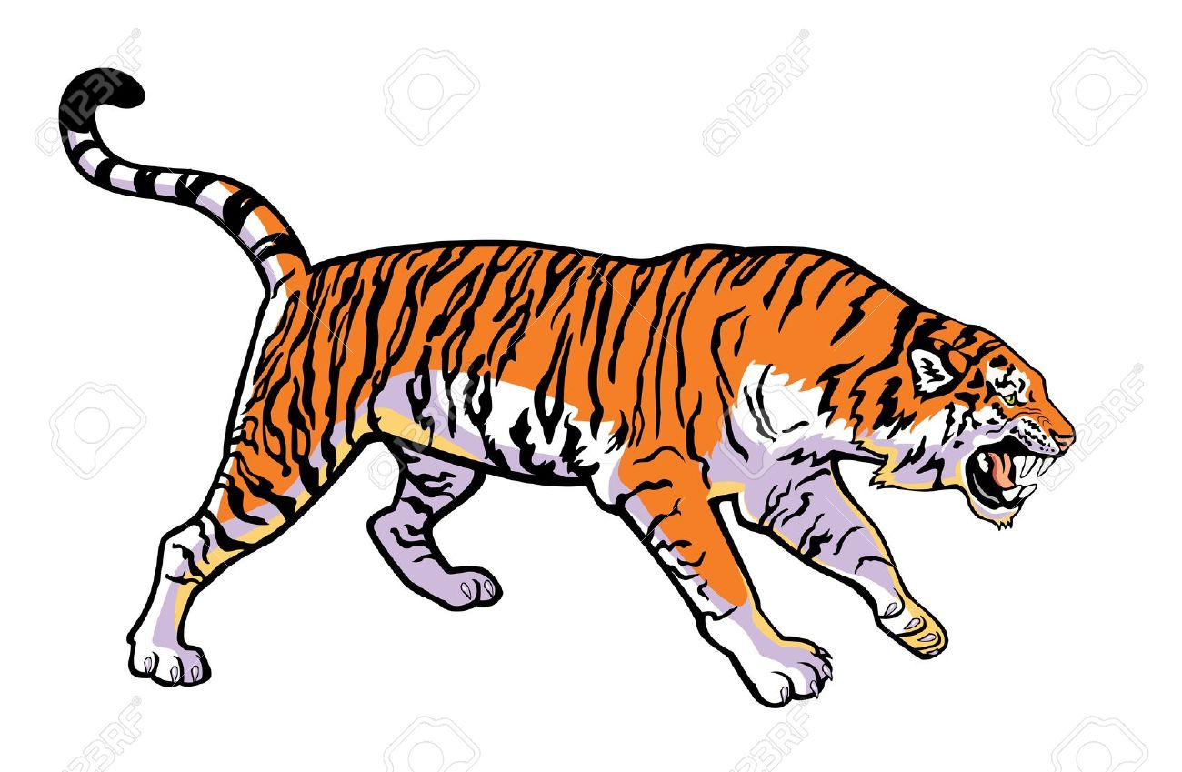 tiger clip art for free clipart panda free clipart images