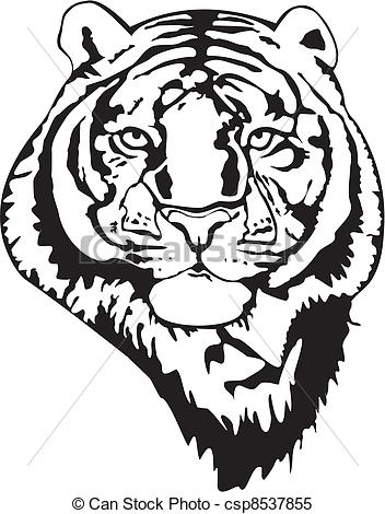 tiger%20clipart%20black%20and%20white