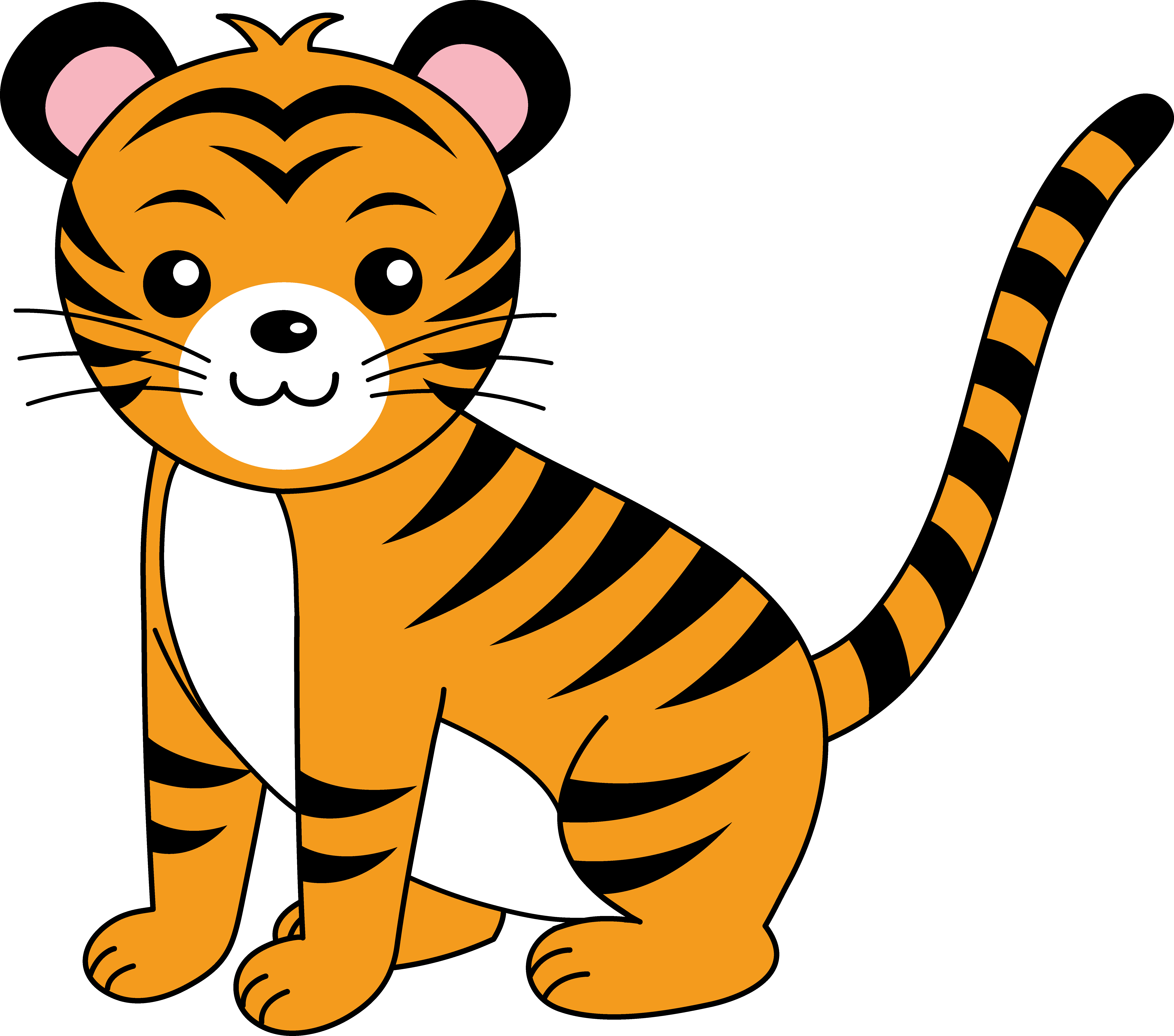 Tiger Clipart For Kids | Clipart Panda - Free Clipart Images