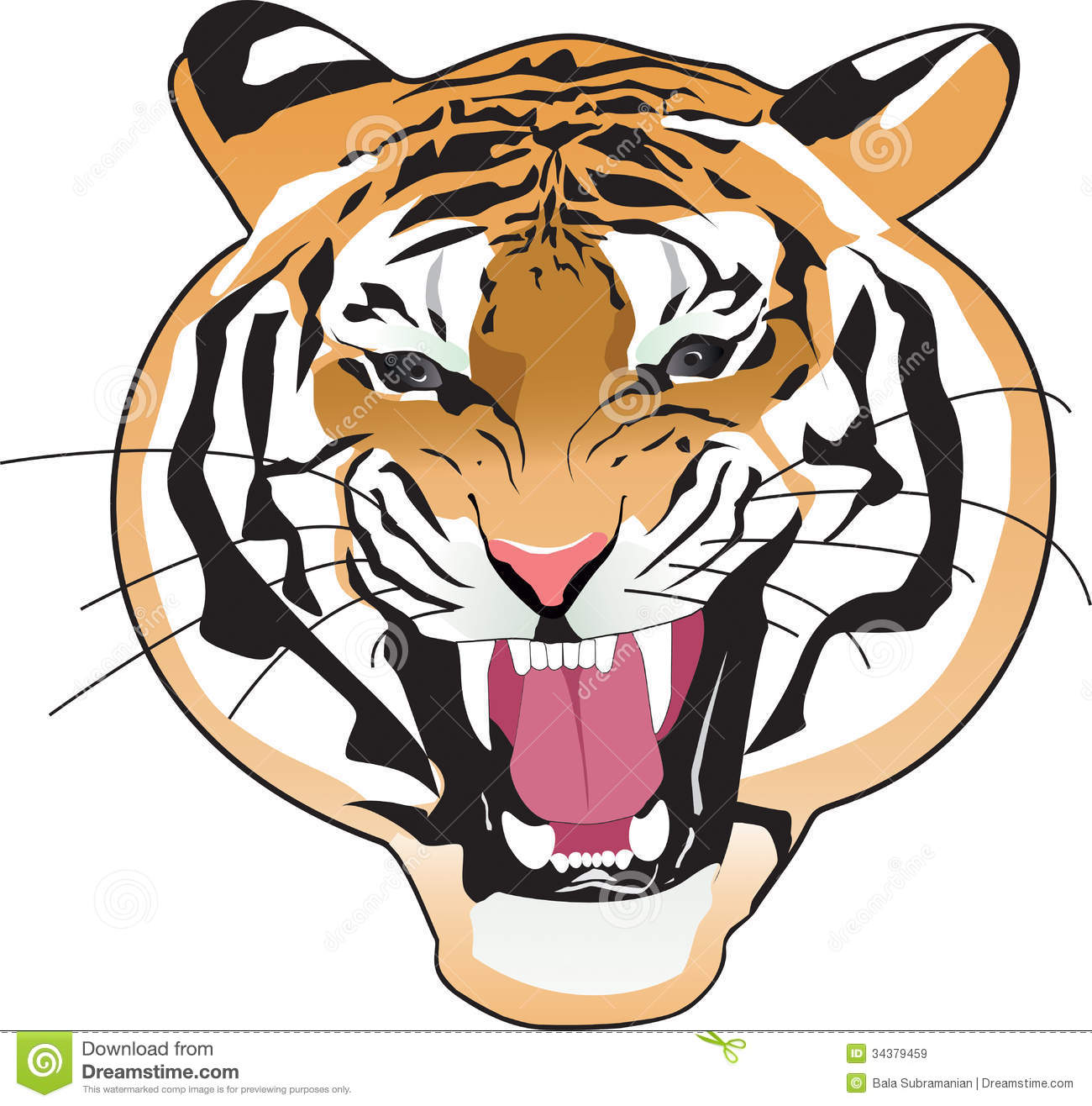 Tiger Clipart Outline | Clipart Panda - Free Clipart Images: www.clipartpanda.com/categories/tiger-clipart-outline