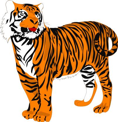 tiger clip art sports clipart panda free clipart images rh clipartpanda com tiger clipart images tiger clipart images black and white