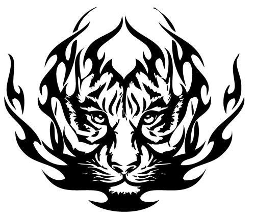 Tribal Tiger Tattoos 03 1