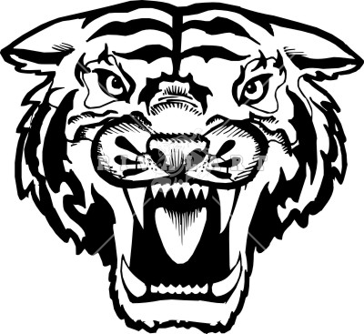 tiger face growl clipart panda free clipart images rh clipartpanda com