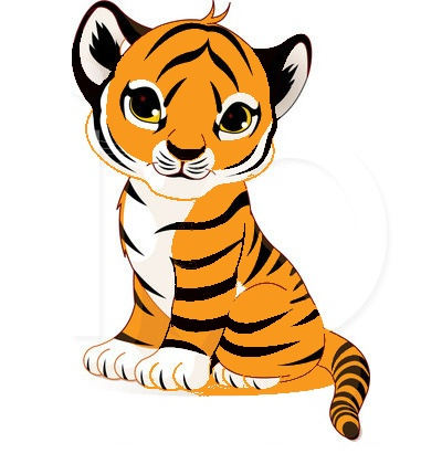 Cute Tiger Face Clip Art | Clipart Panda - Free Clipart Images