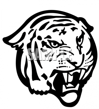 tiger%20face%20clipart%20black%20and%20white