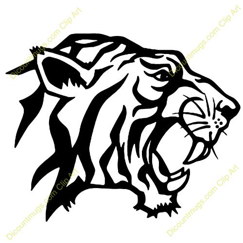Tiger Head Clipart tiger%20head%20clip%20art