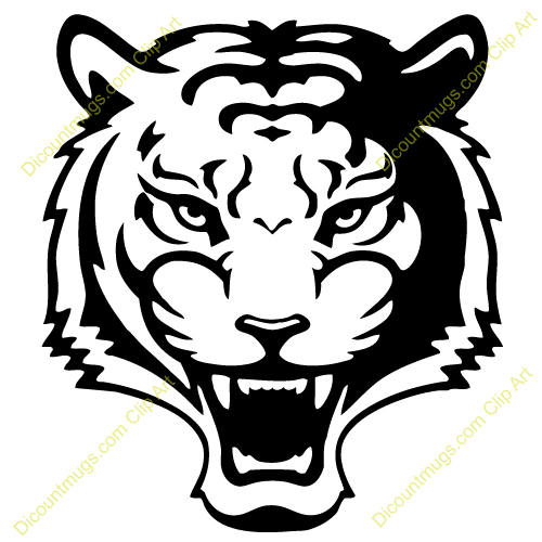 tiger face clip art black and white clipart panda free tiger face clipart easy cute tiger face clipart