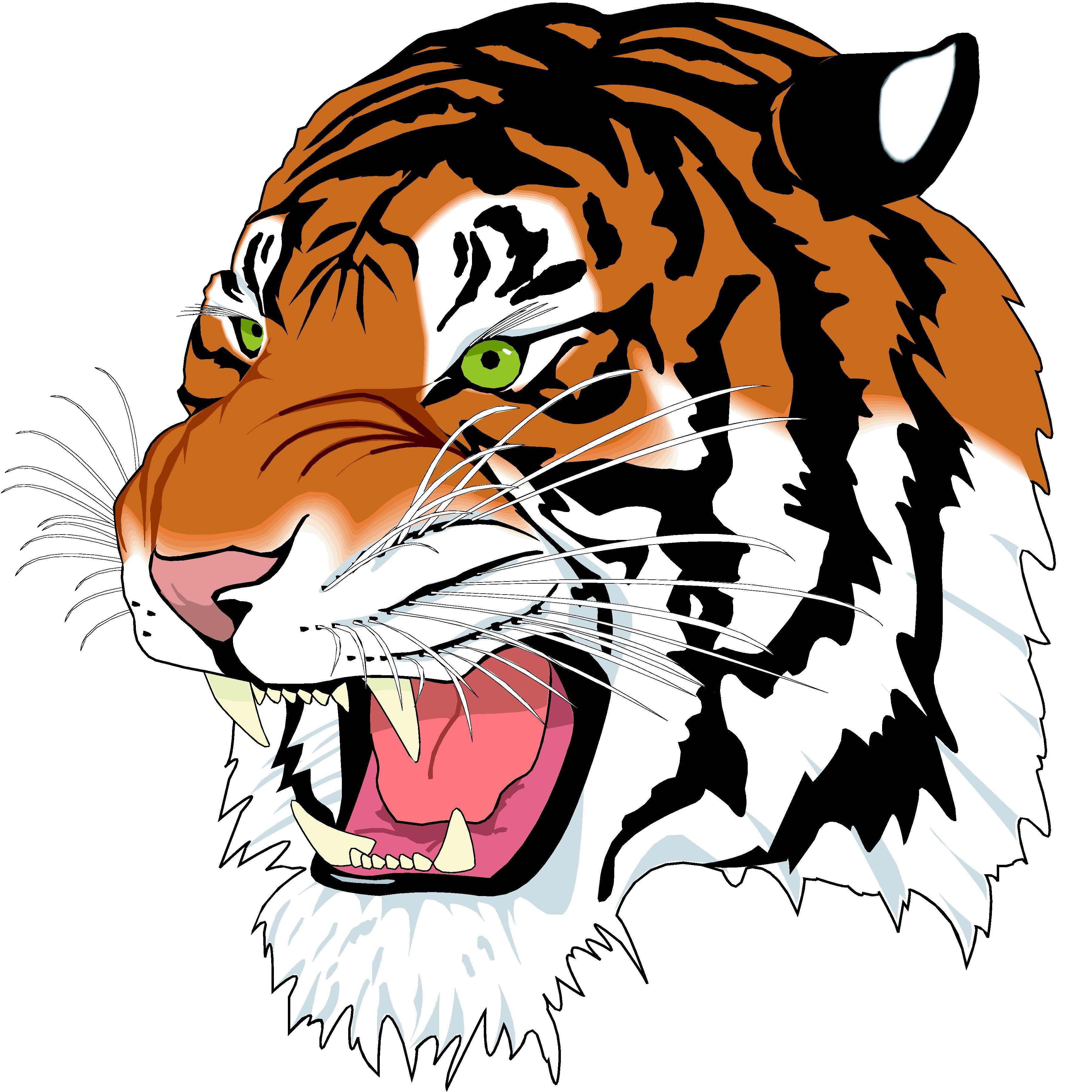 tiger head clip art clipart panda free clipart images rh clipartpanda com tiger head clipart drawing free tiger head clipart vector