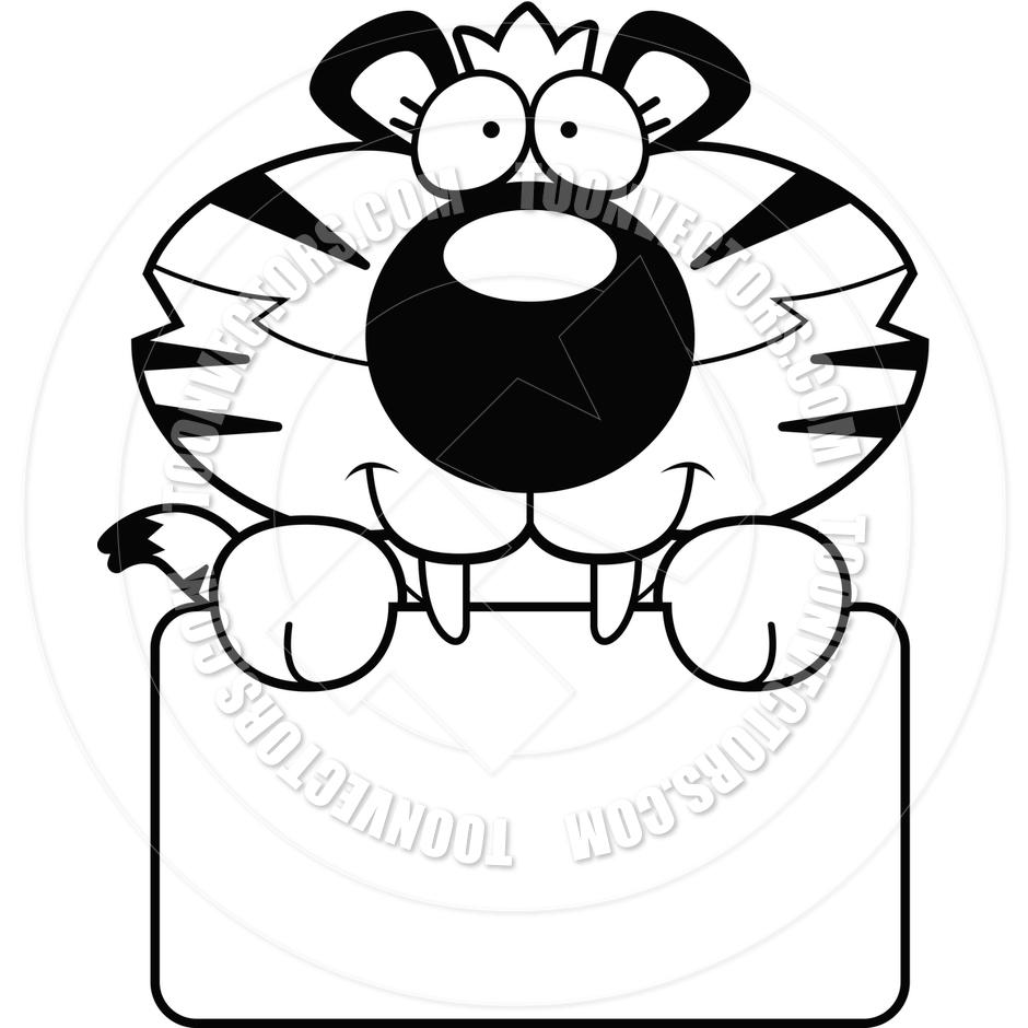 tiger%20head%20clip%20art%20black%20and%20white