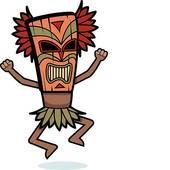 hawaiian tiki clip art tiki clipart panda free clipart images rh clipartpanda com tiki mask clipart free tiki clip art