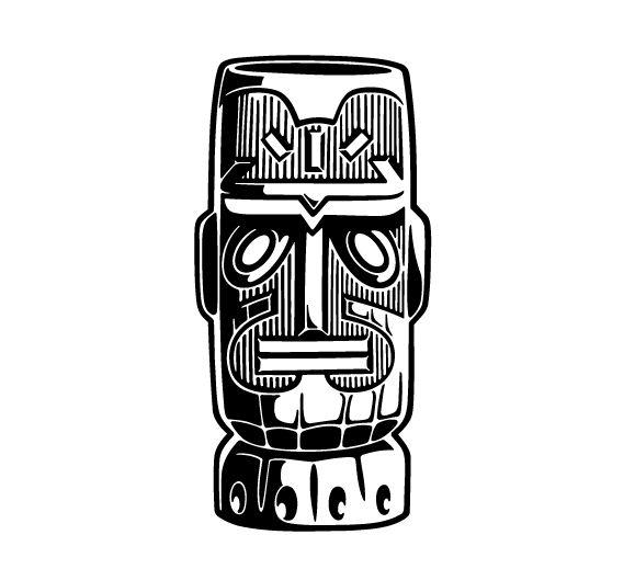 tiki art free vector graphics clipart panda free clipart images rh clipartpanda com hawaiian tiki clipart tiki mask clip art