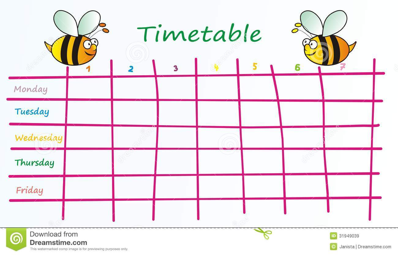 Timetable Clipart | Clipart Panda - Free Clipart Images