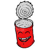 Tin Can Clipart | Clipart Panda - Free Clipart Images