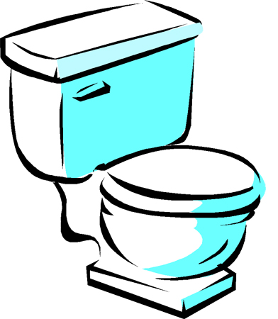 Toilet Clip Art Black And White Clipart Panda Free
