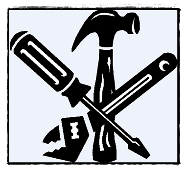 Tool Clip Art Black And White | Clipart Panda - Free Clipart Images