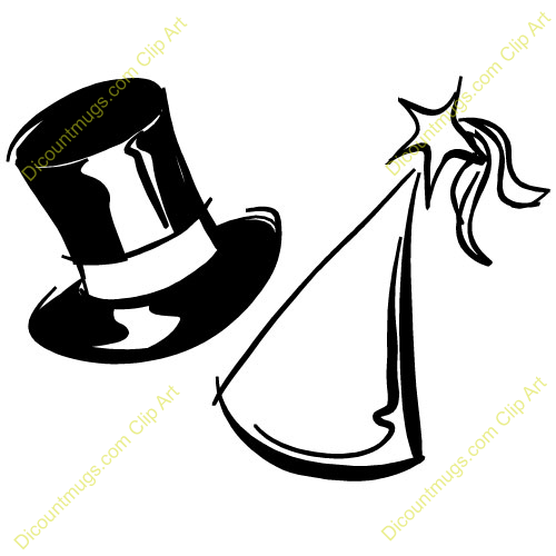 new year hat clipart - photo #12