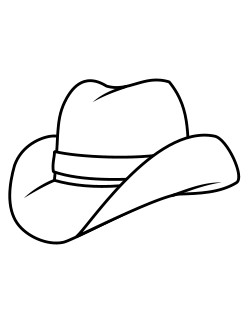 hats painting colouring pages