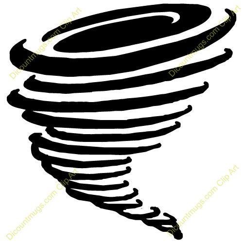 Tornado Clip Art Free Download - 30.9KB