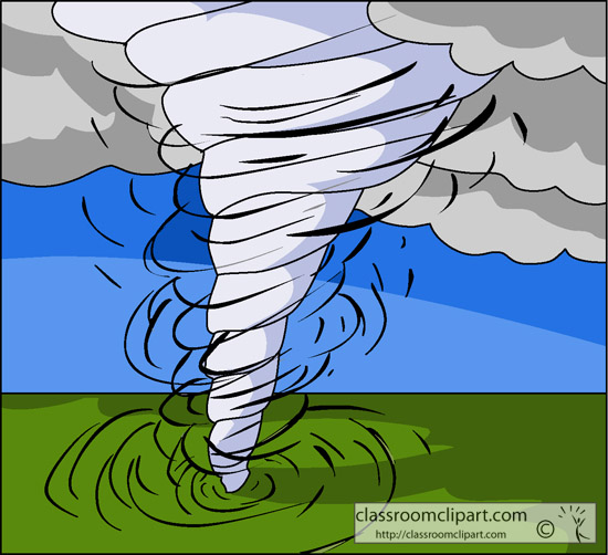 Tornado Art For Kids