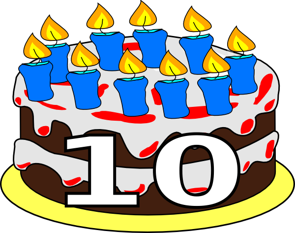 Birthday Cake Th Clip Art