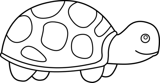 Cute tortoise clipart clipart panda free clipart images for Cute coloring pages of turtles