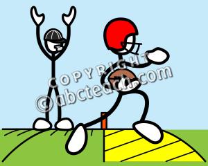 clip art stick guy football clipart panda free clipart images rh clipartpanda com free football touchdown clipart