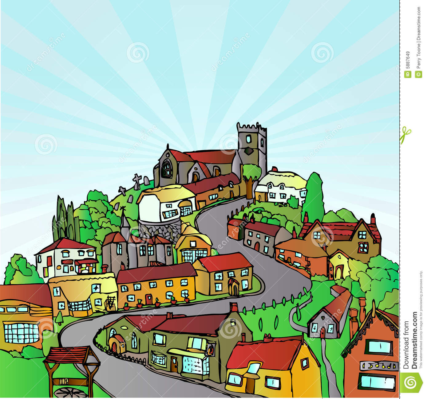 Town Clip Art Free | Clipart Panda - Free Clipart Images