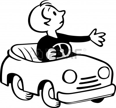 Toy Car Clipart Black And White Clipart Panda