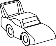 toy 20car 20clipart 20black   Race Car Clipart Black And White