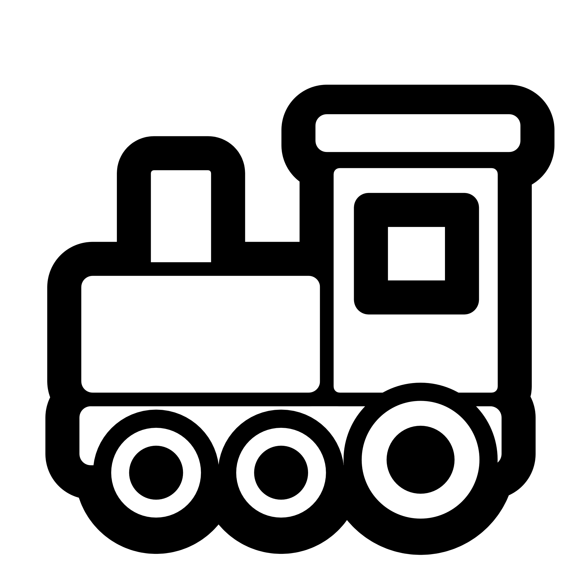 Toy Train Icon Black White Clipart Panda Free Clipart Images