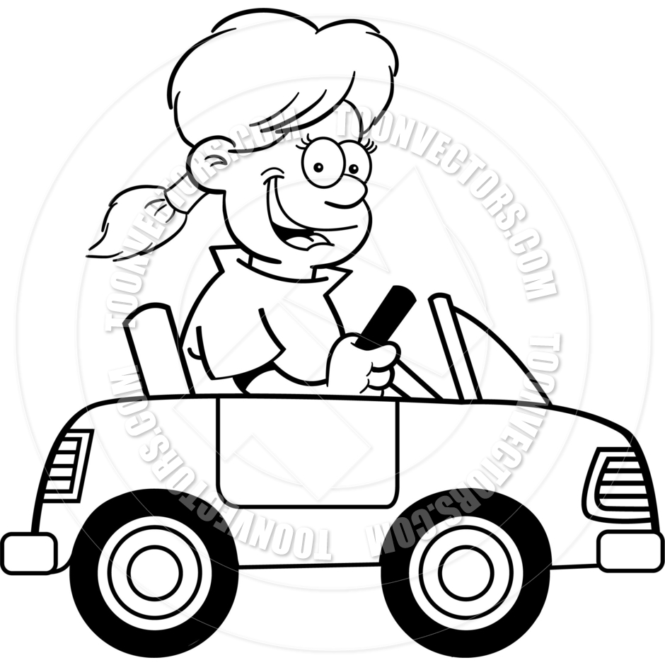 Toy Car Clipart Black And White Clipart Panda Free