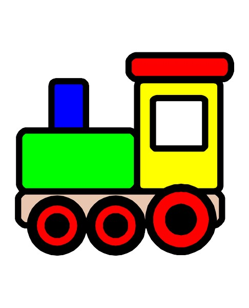 Toy Train Graphics : Toy train clipart panda free images