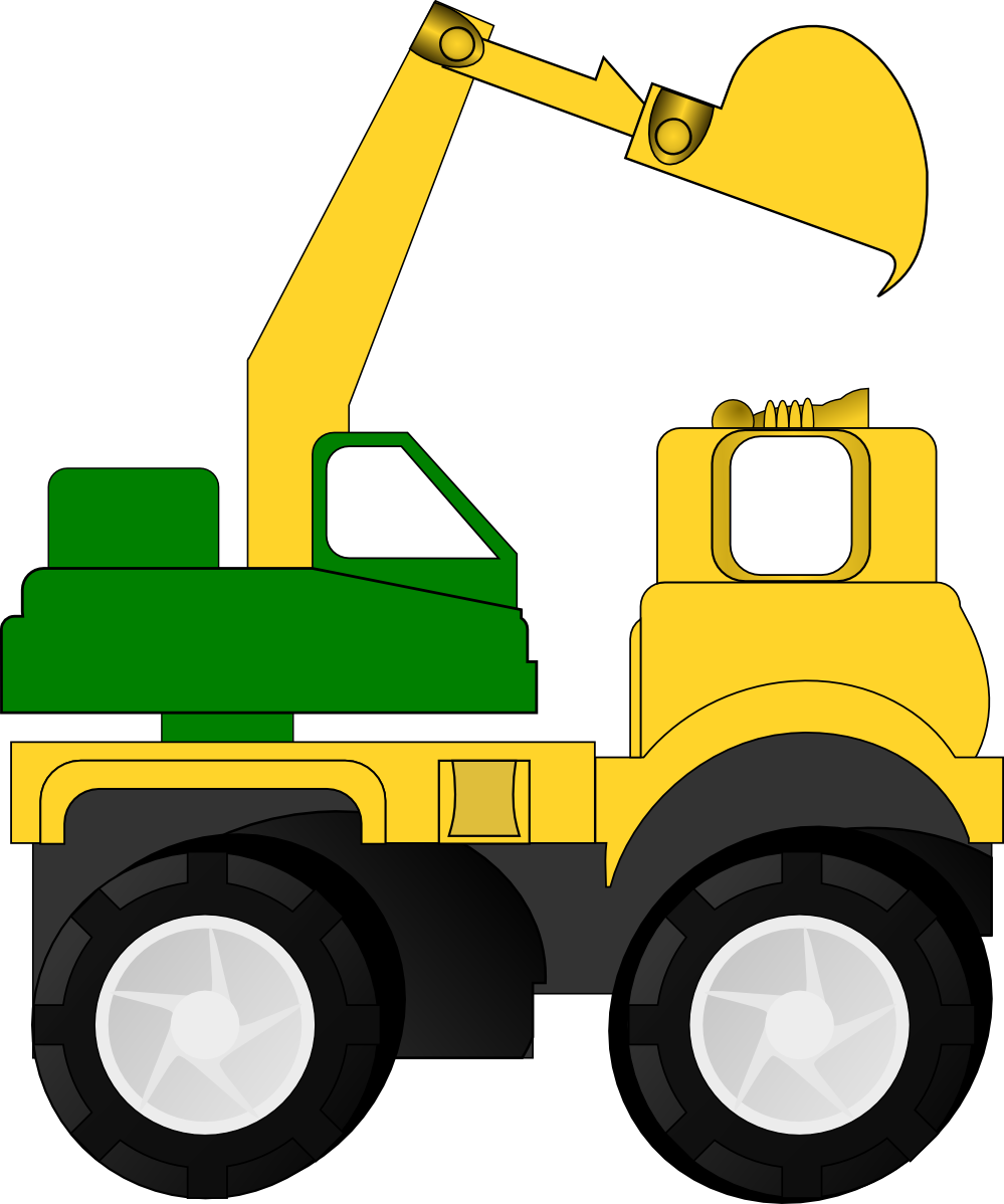 Toy Pick Up Truck Clip Art