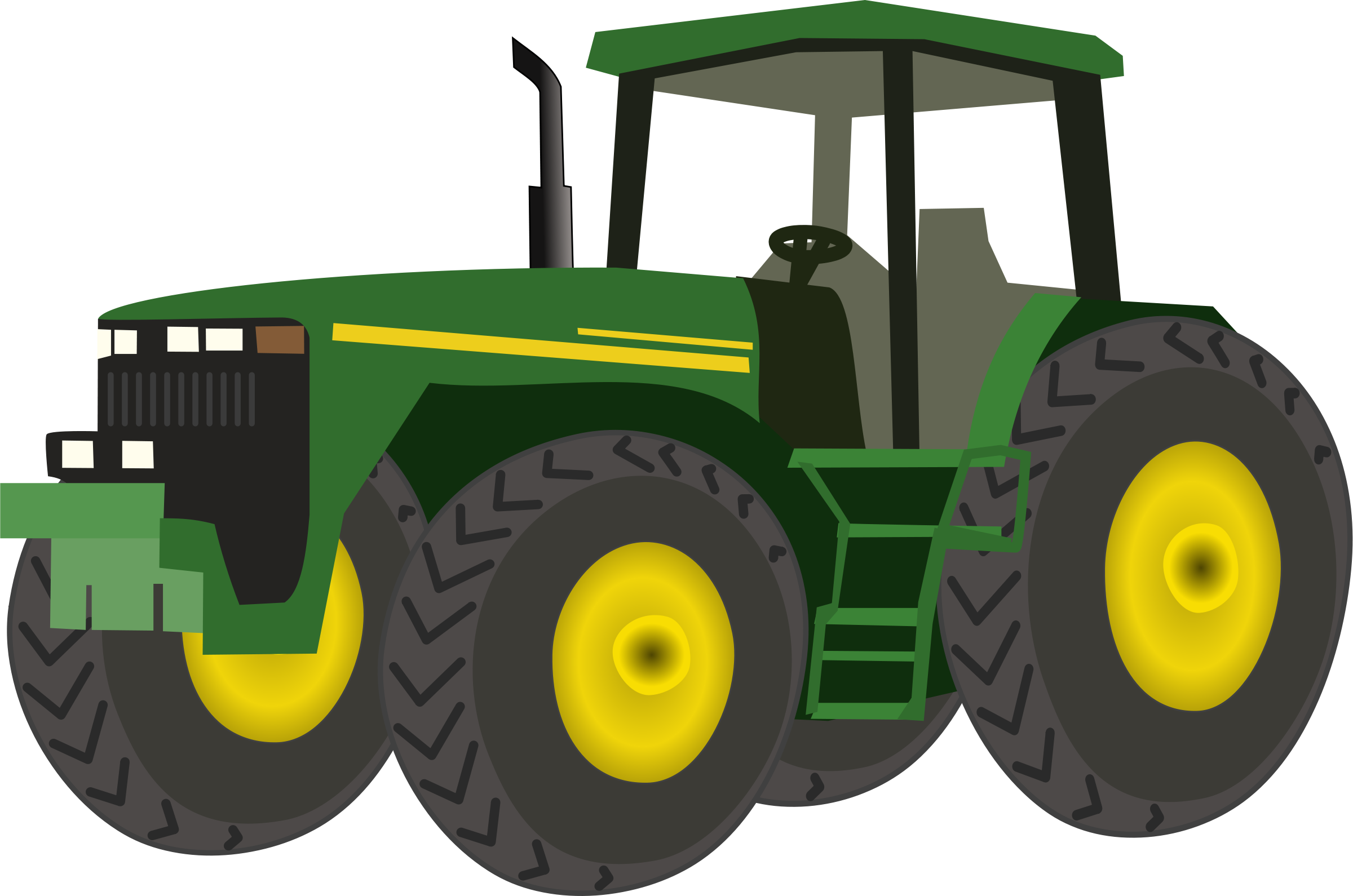 Green tractor clipart clipart panda free clipart images for Tractor art projects