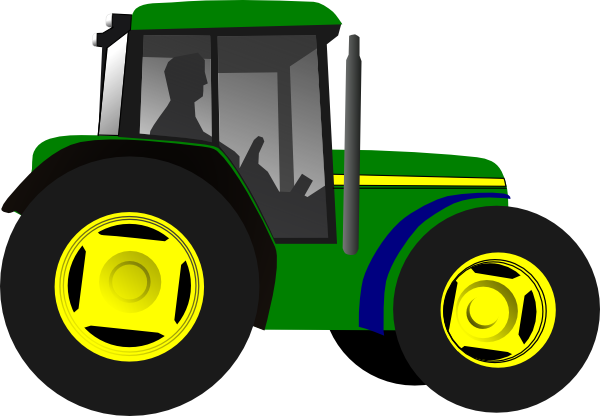 John deere green tractor clipart clipart panda free for Tractor art projects